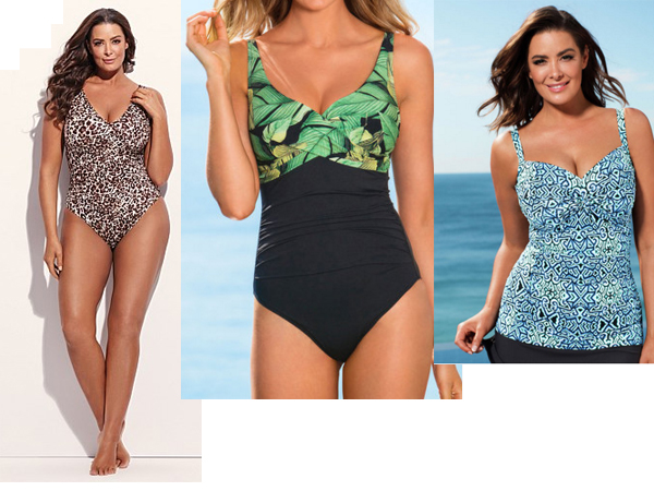 97c34b6800e The best swimsuits for a large bust and a rounded tummy! - Starts at 60