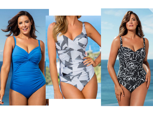 debcbcd6032f7 The best swimsuits for a large bust and a rounded tummy! - Starts at 60