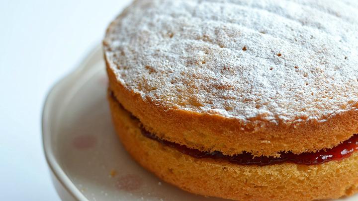 Sponge Chocolate Cake Whole Meal Flour
