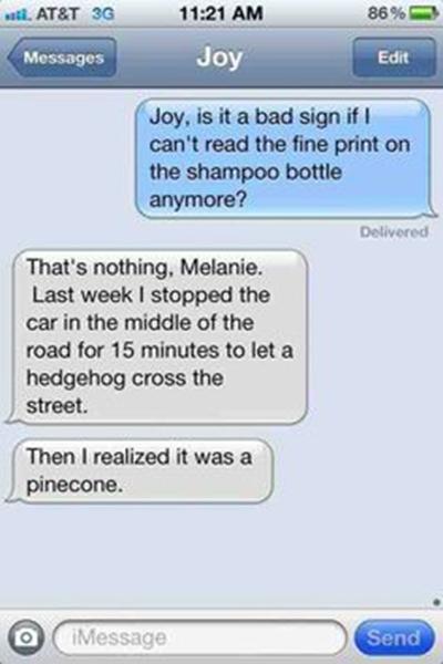 10 funniest text message jokes starts at 60