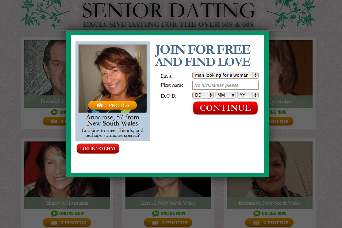 What are senior dating sites