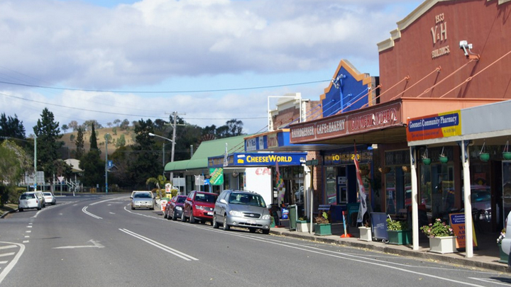 The Changing Faces Of Australian Country Towns Starts At