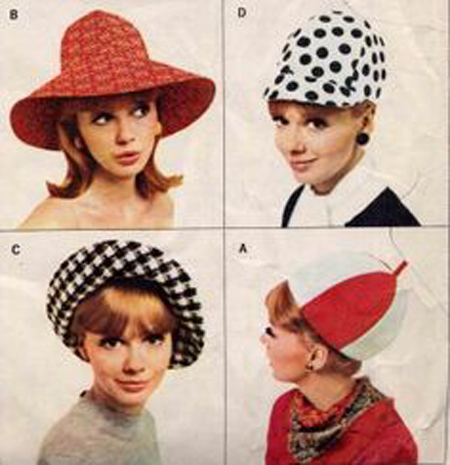 55a06b31bdf The 60s and 70s were known for the fabulous hats we used to wear! - Starts  at 60