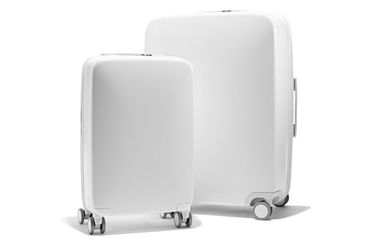 The 'smart' suitcase comes in two sizes.