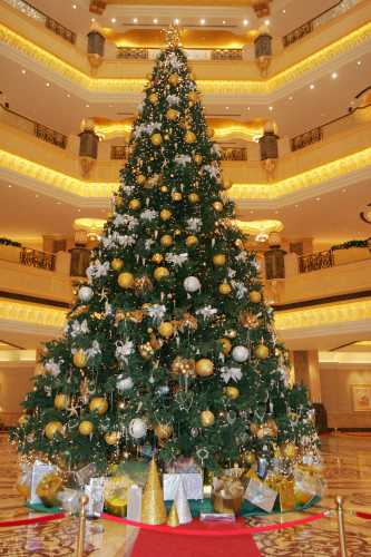 Most Expensively Dressed Christmas Tree