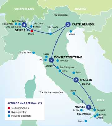 Is this the best way to experience Italy? - Starts at 60 Interactice Map Of Montecatini Italy on
