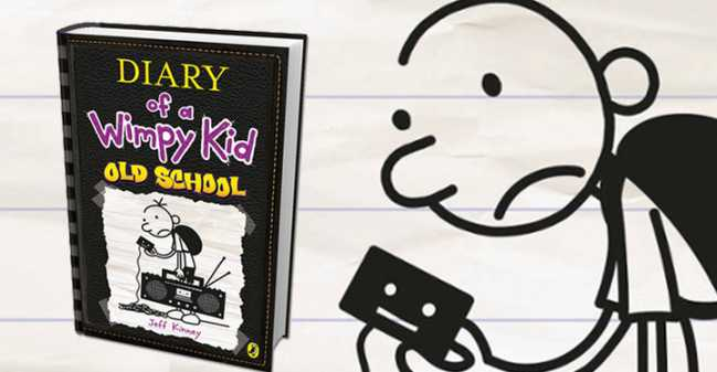 how to draw diary of a wimpy kid old school