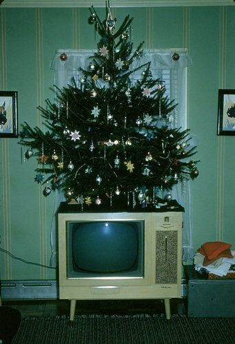 our first tv