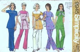 tunics and flared pants
