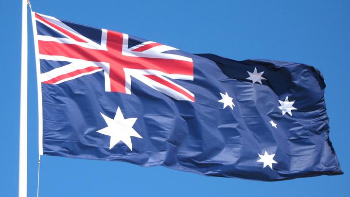 Australian Flag - Starts at sixty