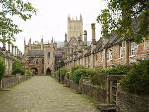 Vicars Close, Wells, Somerset. - Copy