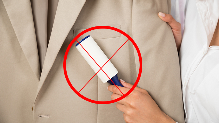 How to remove lint from your clothes without a lint roller starts at 60 - How to remove lint ...