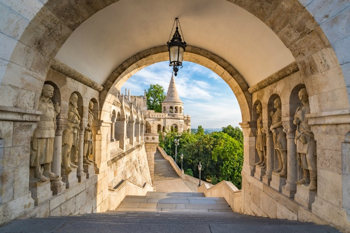 Take a walk through historic Budapest.