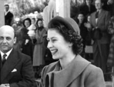 a young Queen Elizabeth II