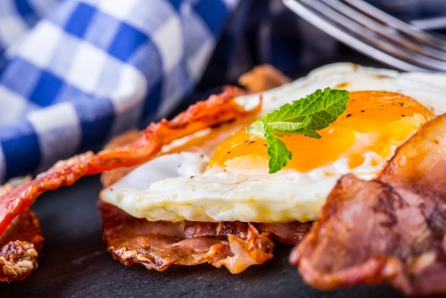 Treat yourself you a hot brekky, but not every day.