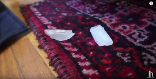 how to fix furniture dents in carpet