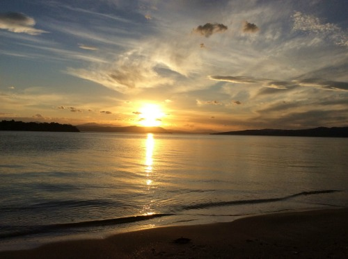 Sunset on Bruny Island Tasmania - submitted by Lyn Griffiths.