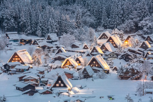 Rug up and enjoy the snow in this picturesque town.