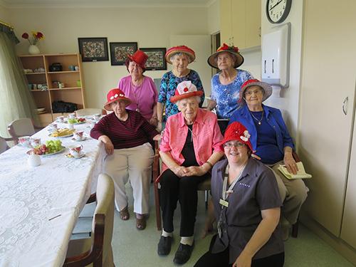 Sue, Audrey, Faye,  Alice, Irene, Dulcie, Joyce