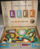 The Game of Life simulates your travels through each stage of life, from schooling through to retirement and you had the possibility of jobs, marriage and children along the way.
