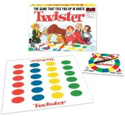 Who doesn't love this game played on a plastic mat? The gist oTwister is to put your hands and feet onto the colour that corresponded with the instruction given by the spinner. It led to numerous precarious positions, which would eventually lead to someone falling down and then they would be eliminated. The last person 'standing' was the winner.