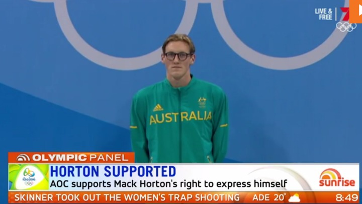 Aussies back Mack Horton as swimming feud with China escalates