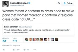 Susan Sarandon Tweet