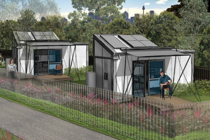 These tiny homes will make a difference.