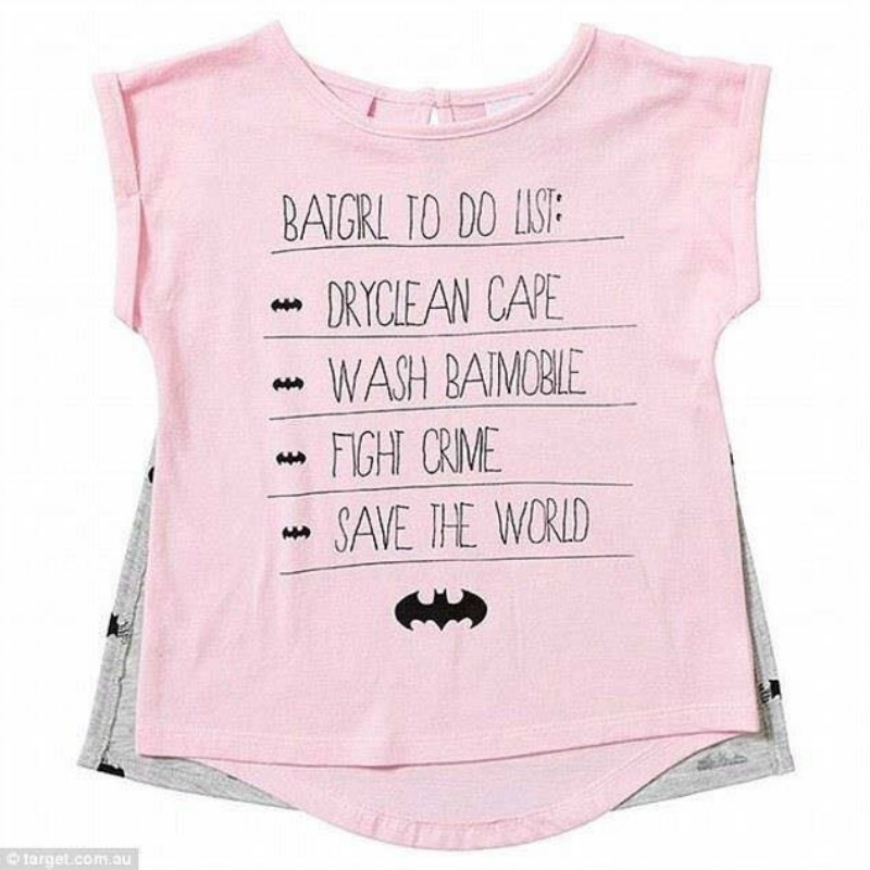 Target pulls girls' T-shirt after parents complain of offensive message