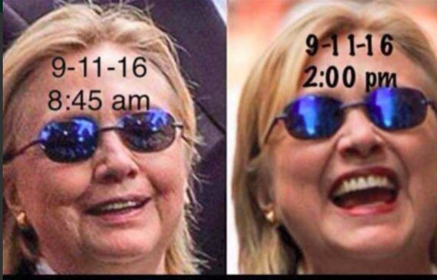 Internet conspiracy decided that Hillary Clinton has a body double