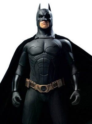 Julian Murray was the principal sculptor on the bat suits for Batman Begins, starring Christian Bale.