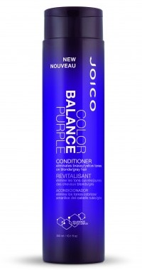 This conditioner can help reduce the yellow tinge in your hair. BUY THIS.