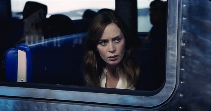 Rachel Watson (Emily Blunt) in a scene from The Girl on the Train.