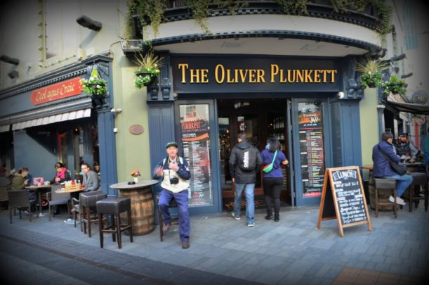 You'll be treated to traditional Irish music at The Oliver Plunkett at Cork. Photo courtesy Lorraine Parker.