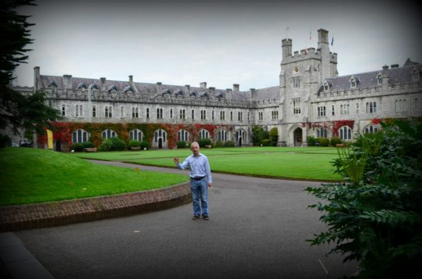 The grounds of the University College, Cork are beautiful. Photo courtesy Lorraine Parker.