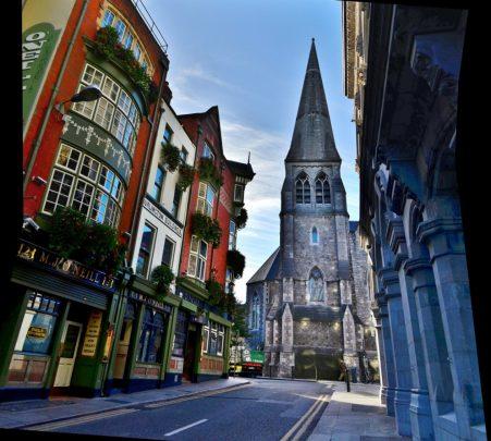 Dublin, the capital of the Republic of Ireland. Photo courtesy Lorraine Parker.