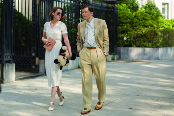 Bobby (Jesse Eisenberg) and Vonnie (Kristen Stewart) in a scene from Cafe Society directed by Woody Allen.