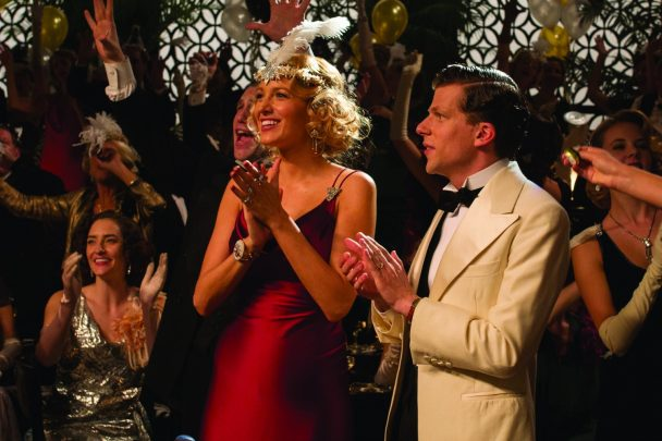 Veronica (Blake Lively) and Bobby (Jesse Eisenberg) in a scene from Cafe Society directed by Woody Allen.