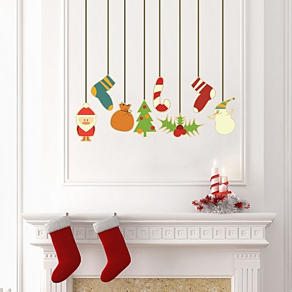 Christmas wall decals, from Zanui.