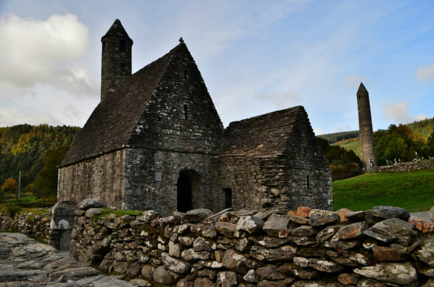 Gelndalough is home to one of the most important monastic sites in Ireland. Photo courtesy Lorraine Parker.