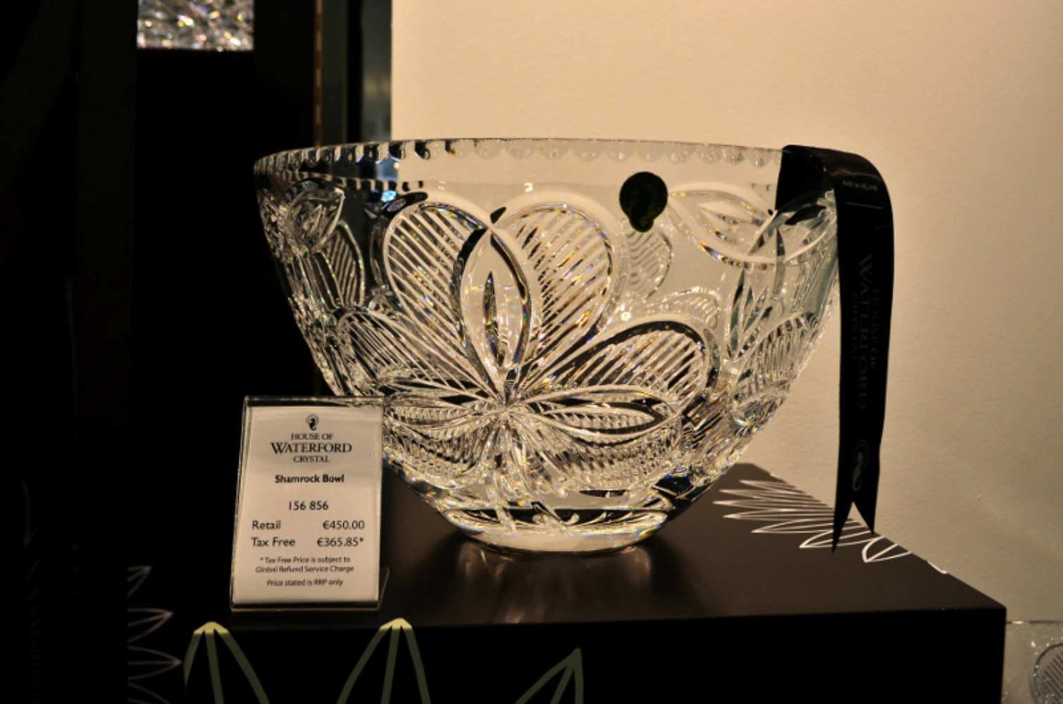 The House of Waterford Crystal offers guided factory tours of the high-end crystal makers. Photo courtesy Lorraine Parker.