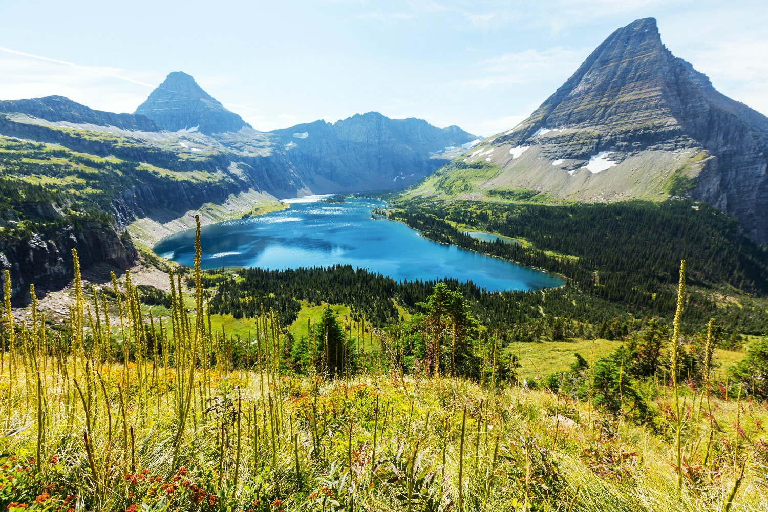 Most of the glaciers at Glacier National Park are gone. Photo Shutterstock.