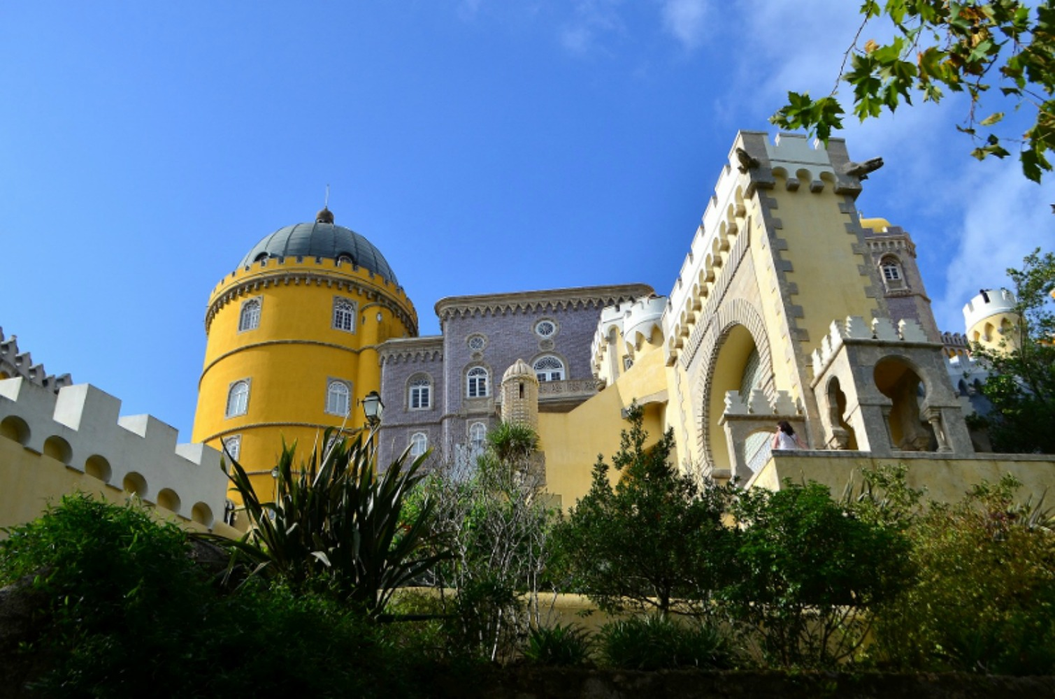 The beautiful Pena Palace of Sintra. Photo courtesy Lorraine Parker.