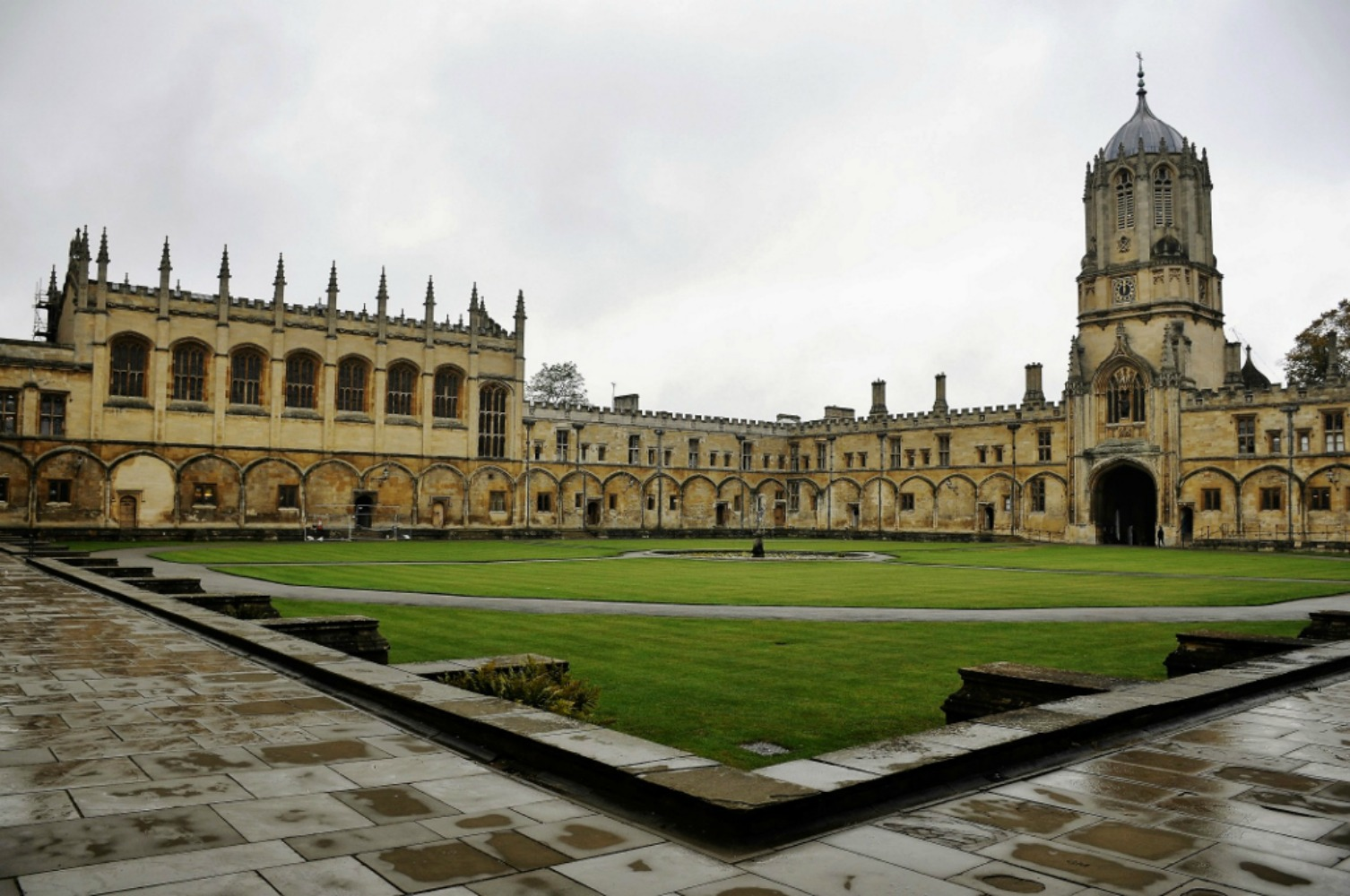 The vast grounds of Oxford. Photo courtesy Ian Smith.