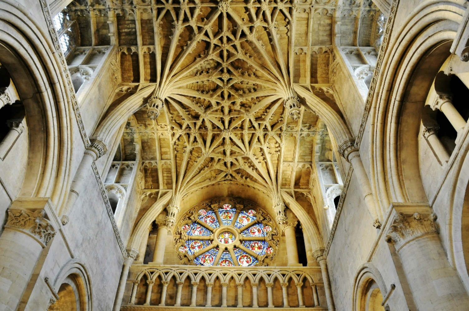 Oxford Cathedral, aka Christ Church, is probably the most visited building in all of Oxford. Photo courtesy Ian Smith.