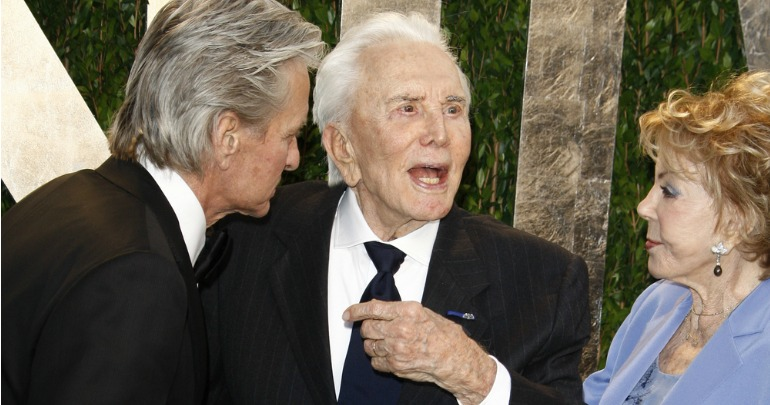 Kirk Douglas makes a heartbreaking confession on his ...