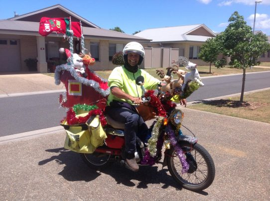 Cam the postie. Source: Beatrice Matthews/Facebook