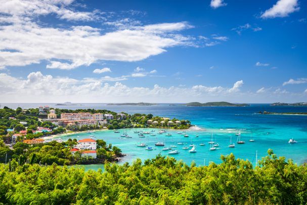 Beautiful cruise ports in the Caribbean