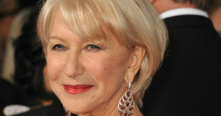 Helen Mirren Posts Makeup Free Selfie Still Looks Like A