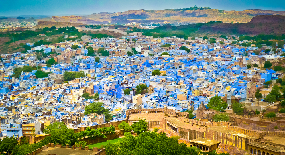 Most colourful cities around the world - India